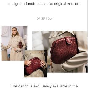 Overvejer at sælge min smukke Bottega Veneta The Lauren 1980 clutch i farven Gigolo Red.   Sælges kun hvis rette pris opnåes. Aldrig brugt.