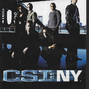 9501 - Csi: NY (DVD)  The complete first series  Dansk Tekst - I FOLIE