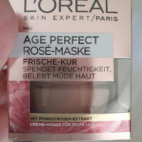 L'oreal age perfect rosé maske sælges  Normal pris 129 kr