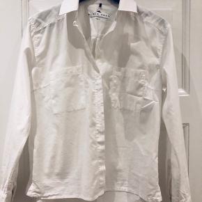 100% bomuld - skjorte med lange ærmer
