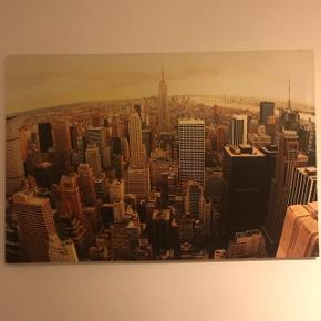 New York'er billede 🌆  120cm bredt x 80cm højt x 4cm dybt.  Fragt ikke inkl.
