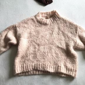Sweater i mohairblend, skide blød