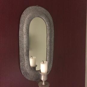 Væglysestage med spejl sælges pga flytning