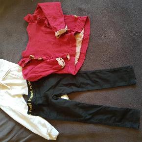 Varetype: hummel pakke Farve: blandet  Sorte bukser er kun vasket. Bluse er brugt 4 gange.  Byd endelig