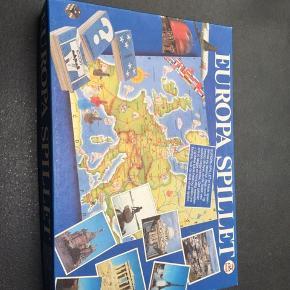 Europa spillet, der byder på gamle landopdelinger i Europa sælges.  Udfordre dine venner og familie i deres viden om Europa for et antal år siden.