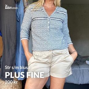 Plus Fine bluse
