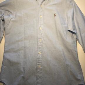 Polo Ralph Lauren - skjorte str. M classic fit - lyseblå