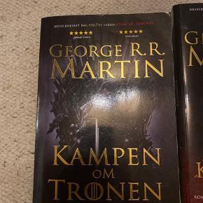 Game Of Thrones bøger  Bind 1 - 25 Bind 2 -25 Bind 5 -25  Eller tag alle tre for 50kr 🌸