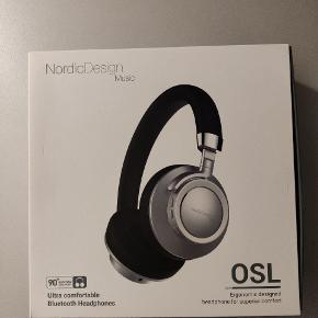 Nordic Design music Bluetooth høretelefoner  Aldrig brugt  Befinder sig i Korsør
