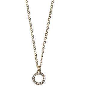 Sælger min smukke cirkel halskæde fra Pilgrim, da jeg mest går med sølv og kun har brugt den et par gange. Fejler intet.