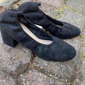 Fine Céline-agtige ballerinasko med hæle 💓