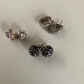 3 sæt øreringe - to fra Dyrberg Kern og et ukendt