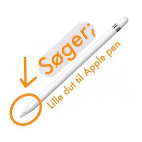 Jeg er kommet til at smide den lille dut væk, som hører til min Apple pen, og jeg har ikke flere. Nu har jeg så lidt krise, så jeg søger en ny!   Skriv gerne hvis I vil sælge jeres ekstra dut (man får to med blyanten), så skal jeg nok købe den!