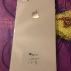 IPhone 8 plus 64 GB  købt i december sidste år, har aldrig været tabt. Grundet salg, er for at opgradere til en ny IPhone. Cover's på et af billederne følger med.