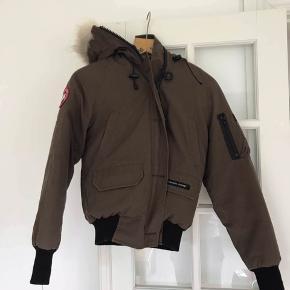 Mørkebrun Canada Goose str. XS