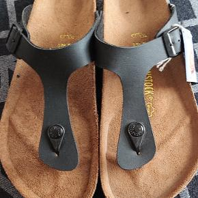 Brand new Birkenstock Gizeh sandals. Still with the label and in original box. Never worn.