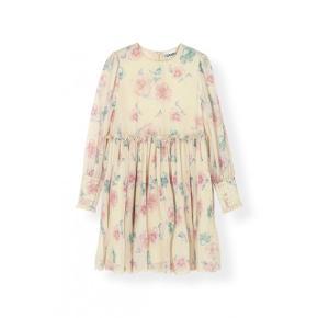 Sælger den her smukke ganni kjole 💗  Brugt få gange. Str. 34 💗