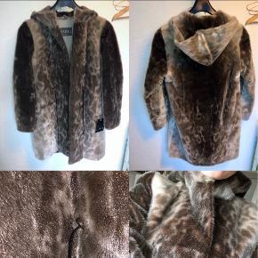 Stampe pels- & skindjakke