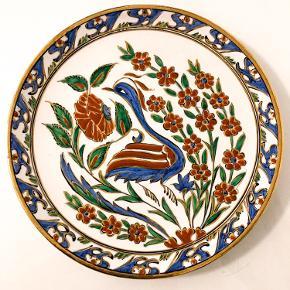Smukkeste tallerken/fad med de fineste dekorationer 🤩  Ingen skår