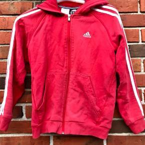 Fed vintage retro Adidas hættetrøje med lynlås