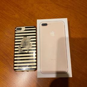 iPhone 7 plus 128GB nypris 7999kr Meget fin stand har altid haft cover og panser glas på Alt fungerer fint Sælges fordi købt ny model  Cover Karl Lagerfield