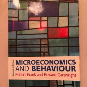 Microeconomics and behaviour, Robert H. Frank, 2. Udgave God stand, få overstregninger
