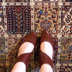 Fine vintage sko. Str 40 men passer bedre en 39 eller 39,5. Pris 200 pp