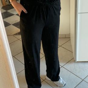 bukser fra PIECES med elastik kant
