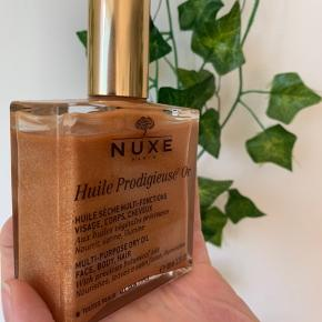 Sælger min Nuxe olie 100 ml. Stort set ikke brugt.