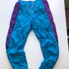 Vintage track pants  Tyrkis  Str XL