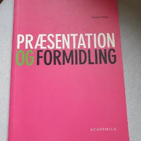 Præsentation og Formidling af Mette Hald.  Rigtig god og overskuelige  tekster om det at fremlægge.