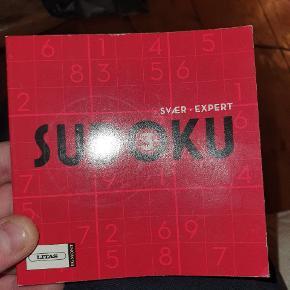 Har denne bog suduku er hel ny sælges billigt