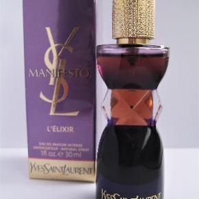Yves Saint Laurent Manifesto L'Elixir EdP 30ml. Kun testet. I original box. Købspris 515kr
