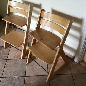 To trip trap stole ,de er i brugt stand og uden bøjle .pr stk 225 kr .afhentes i 6690 Gørding.