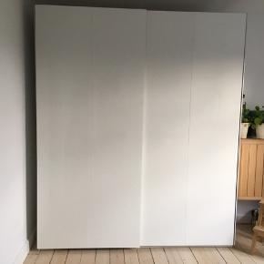 236 høj 60 dyb 200 bred  Sælges IKEA pax skab - så godt som nyt.