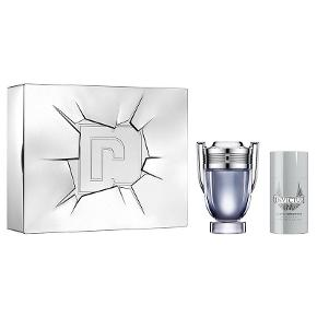 Paco Rabanne Invictus Eau De Toilette For Him 50 ml 1 stk. Paco Rabanne Invictus Deadorant Stick For Him 75 ml - Normal pris 705 kr - 450kr :)