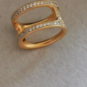 Julie Sandlau Linea Double ring i str 58