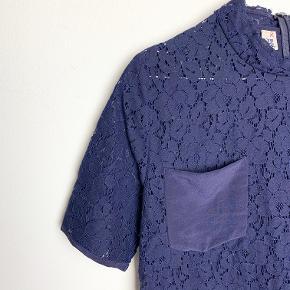Baum und Pferdgarten blå blonde t-shirt med lommer fortil