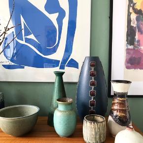 Sælger den højeste blå vase