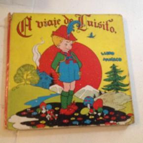 Varetype: børnebog fra 40rneStørrelse: - Farve: -  Leonor del Corral: El viaje de Luisito, libro muneco, spansksproget billedbog fra 40rne. Med klapud-hoved og ben. Slidt omslag, navn i front.  75kr Kan hentes Kbh V eller sendes for 27kr