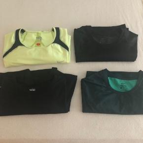 Sælger her lidt forskellige t-shirt fra Nike som er brugt i forbindelse af træning/gym. Alle er i str: XL