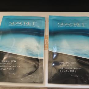 2 stk body mud mask fra seacret begge indeholder 100ml og har en værdi på 375 kr stykket