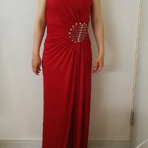 Ever pretty prom fest kjole i den græske stil.   🌺🌺🌺Må gerne prøves og ses i Aarhus 🌺🌺🌺  Kan afhentes i Aarhus eller sendes med DAO