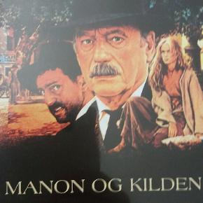 Kilden i Provence og Manon og kilden. Fransk film med bla Gérard Depardieu  Pris er for begge