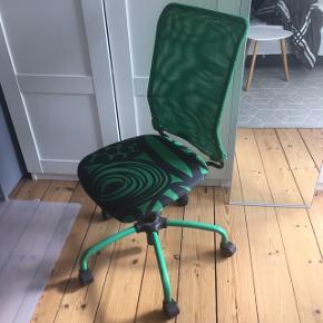 Grøn kontorstol fra IKEA