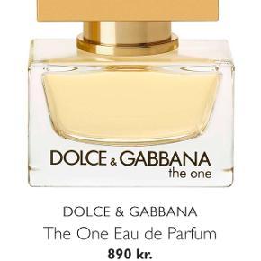 Dolce & Gabbana The One parfume 75ml  Åbnet, men ikke brugt  Har forsat æske