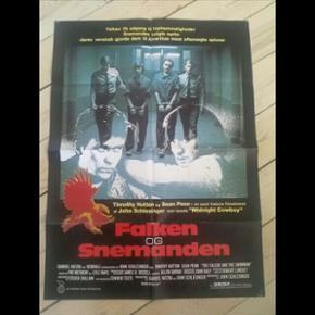 Original filmplakat Falken & Snemanden