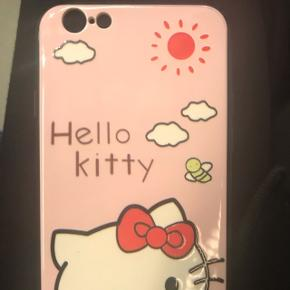 Hello kitty iPhone 6 cover. Helt nyt. Baby pink / lyserødt.