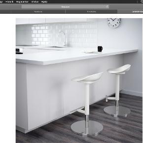 Sælger 2 barstole fra IKEA. NP er 400 pr styk. Sælges for 400 i alt for begge to. Kan afhentes i Randers