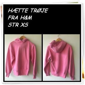 Hætte trøje fra h&m str xs